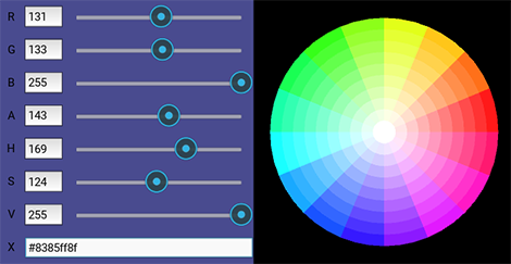 how to change color picker in animate